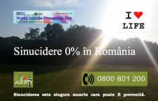 Cea mai mare campanie de prevenție a suicidului la nivel național va avea loc la Cluj