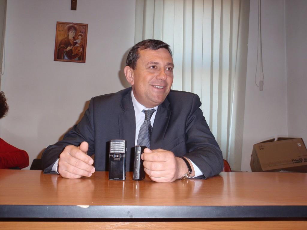 Horia Șulea,   primarul comunei Florești