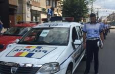 Polițiștii clujeni,   marș în memoria polițistului ucis de un om de afaceri turc