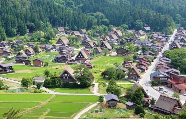 Shirakawa-go,   Japonia