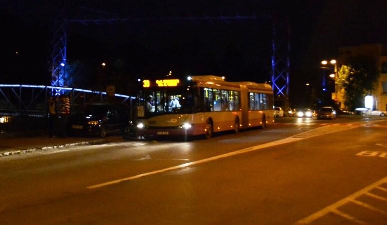 transport pe timp de noapte
