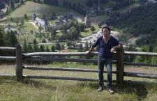 Realizatorul Wild Carpathia,   Charlie Ottley,   pregătește filmarea episodului cu numărul patrul al seriei de documentare despre România