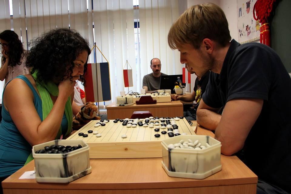 Clujul a gîzduit zilele trecute Campionatul European de Go pentru Studenți / Foto: Dan Bodea