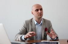 Cristian Ureche,   managerul proiectului Parking Plus (Foto: Dan Bodea)