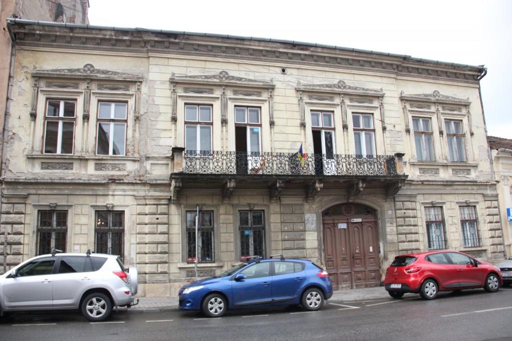 Casa Emil Isac este situată pe strada cu același nume,   la numărul 23 / Foto: Dan Bodea