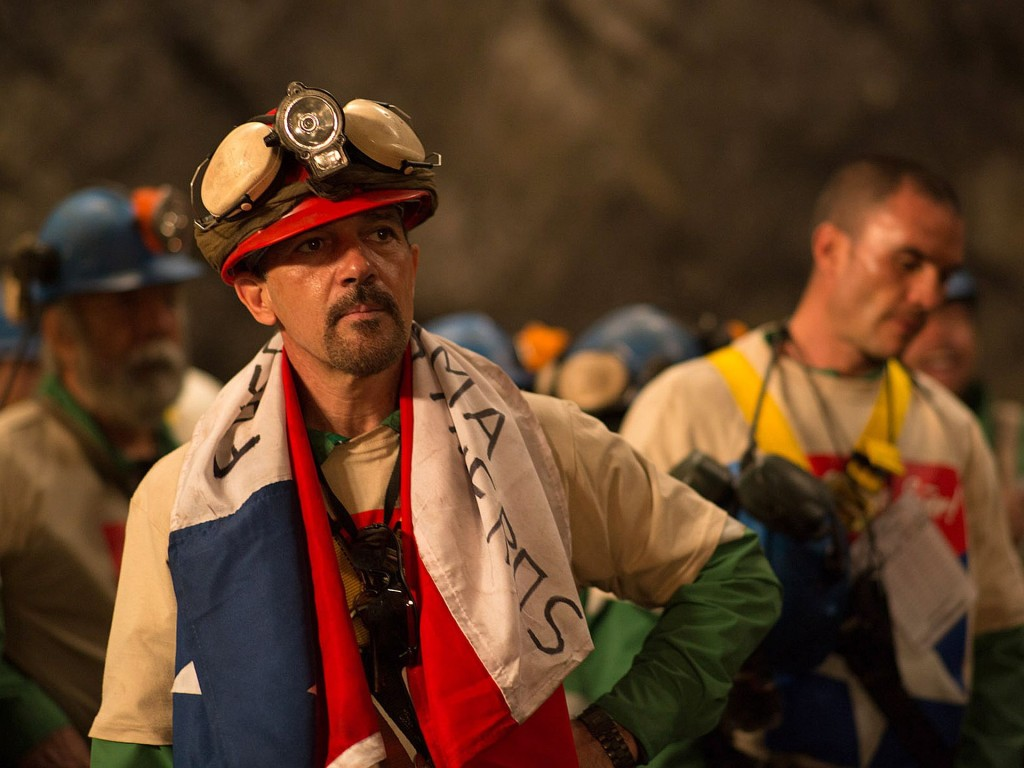 "Antonio Banderas,   în ""The 33"""