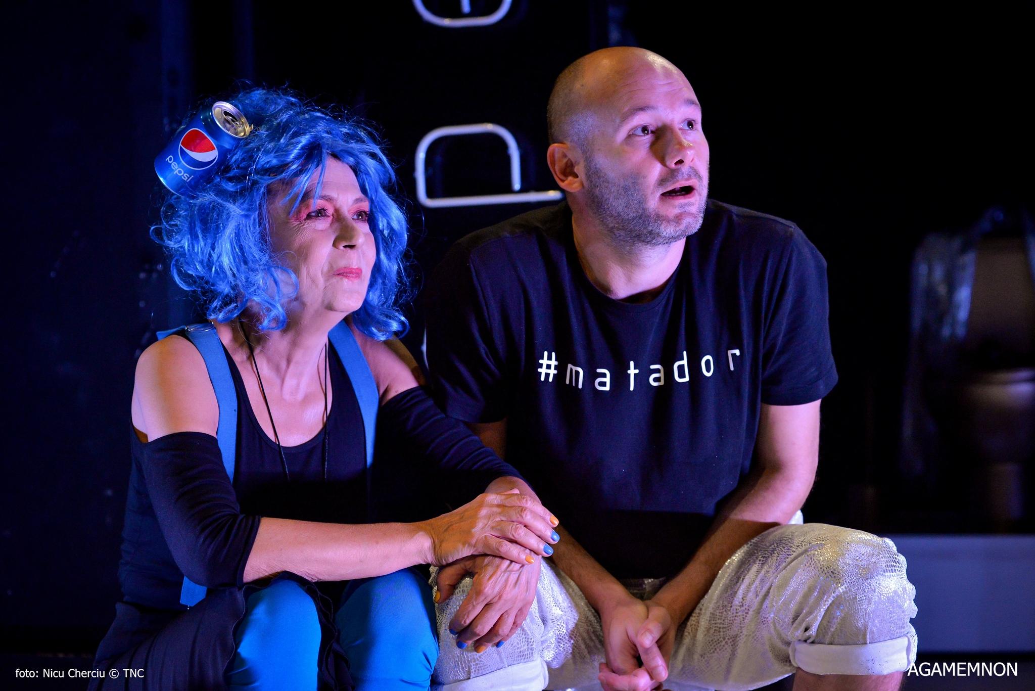 Miriam Cuibus și Sorin Leoveanu/Foto: Nicu Cherciu
