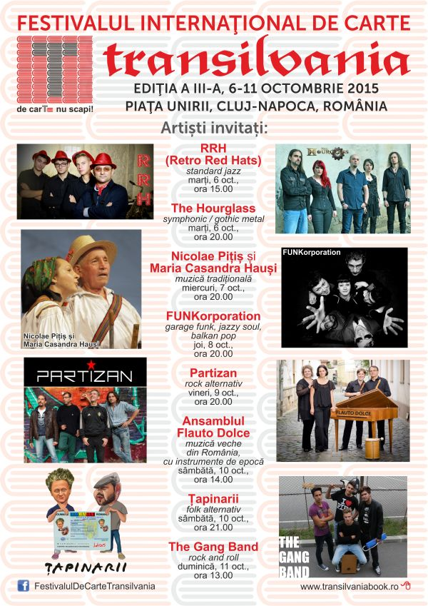 Afis artisti FICT 2015