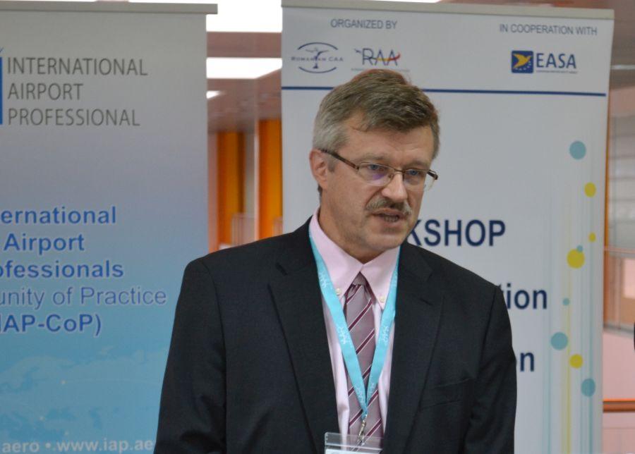 Jussi Myllärniemi,   director al departamentului ATM/Aeroporturi din cadrul EASA