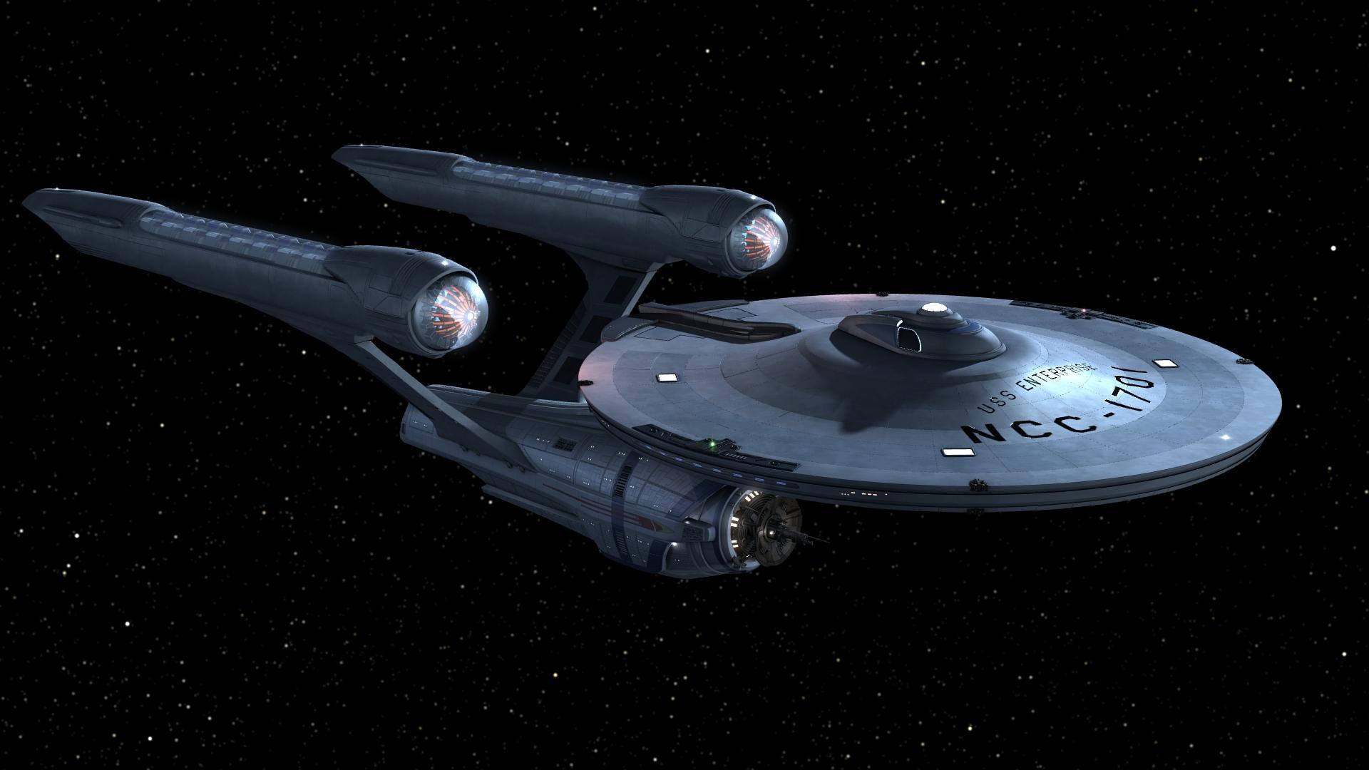 """""""Spaţiul: ultima frontieră. Acestea sunt călătoriile navei stelare Enterprise. Misiunea ei: să exploreze lumi noi şi stranii,   să caute noi forme de viaţă şi noi civilizaţii,   să meargă cu curaj acolo unde niciun om nu a mai fost vreodată."""""""