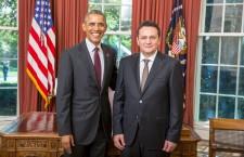 Clujeanul George Cristian Maior și-a prezentat scrisorile de acreditare Președintelui SUA Barack Obama