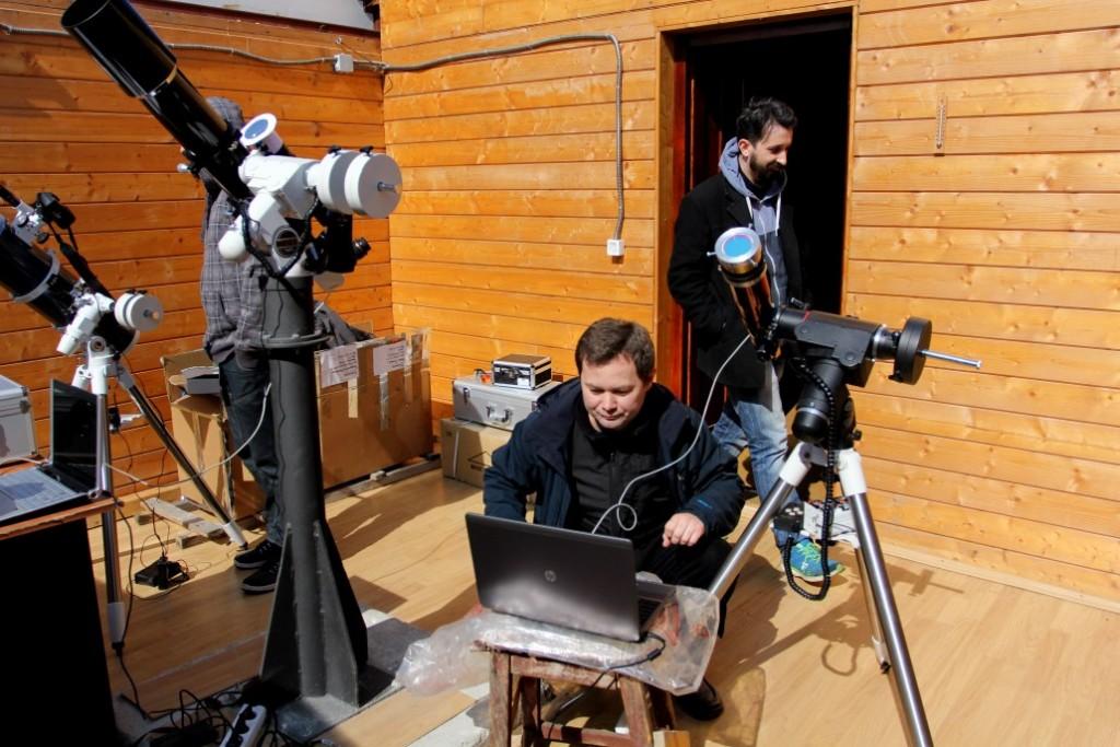 Societatea Astronomică Andromeda din Cluj-Napoca / Foto: Dan Bodea