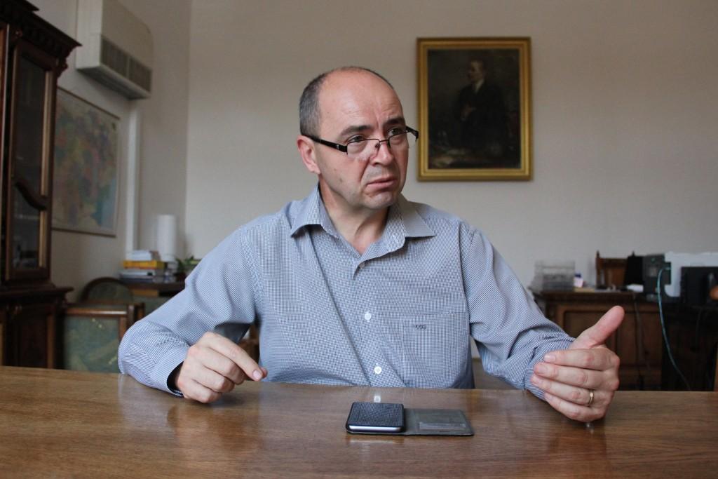 oan Bolovan, noul preşedinte al Comisiei Internaţionale de Demografie Istorică și prorector al UBB - Foto: Dan Bodea