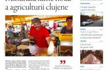 """Nu ratați noul număr Transilvania Reporter """"Minunata lume nouă a agriculturii clujene"""""""
