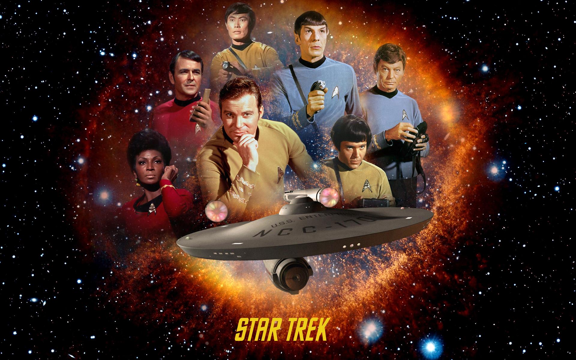 "Distribuţia primului serial Star Trek (""The Original Series"")"