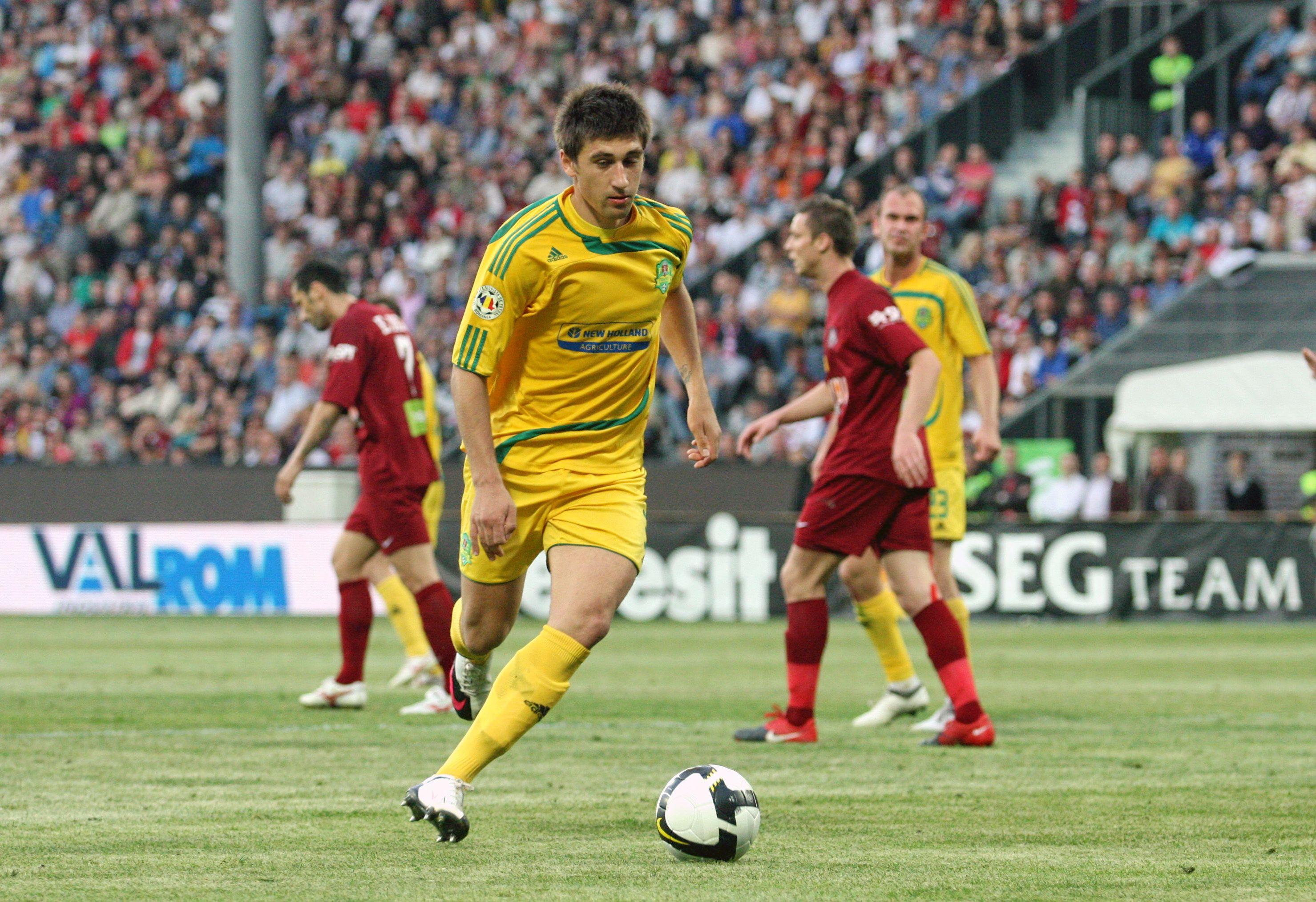 Paul Papp este singurul fotbalist clujean convocat de Anghel Iordănescu pentru meciurile României cu Ungaria şi Grecia din preliminariile Euro 2016