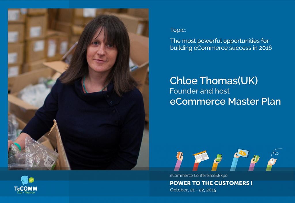 Chloë Thomas (UK), specialist international in comert online