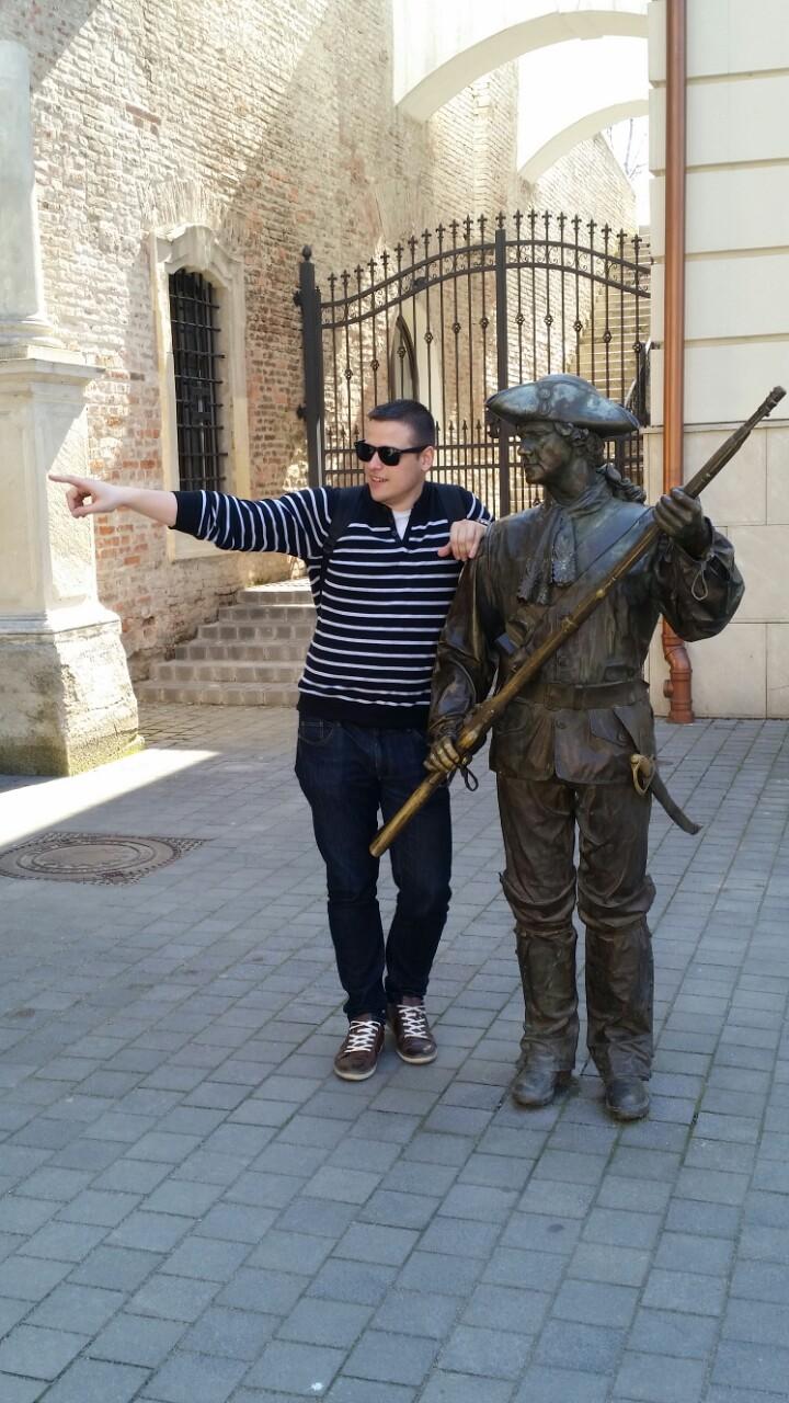 Adis se află la Cluj de doar un an,   însă deja s-a îndrăgostit de Transilvania (Foto: Arhivă personală)