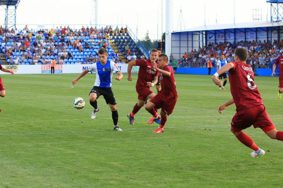 CFR Cluj o va întâlni pe FC Viitorul 2 Consteanţa în optimile Cupei României