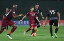 Antonio Jakolis a deschis repede scorul pentru CFR,   în întâlnirea cu Astra Giurgiu,   dar meciul s-a terminat la egalitate,   scor 1-1 / Foto: Dan Bodea