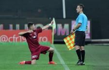 spaniolul Cristian Lopes a marcate de trei ori cu FC Botoşani şi a devenit primul jucător care reuşeşte un hattrick în acest campionat / Foto: Dan Bodea