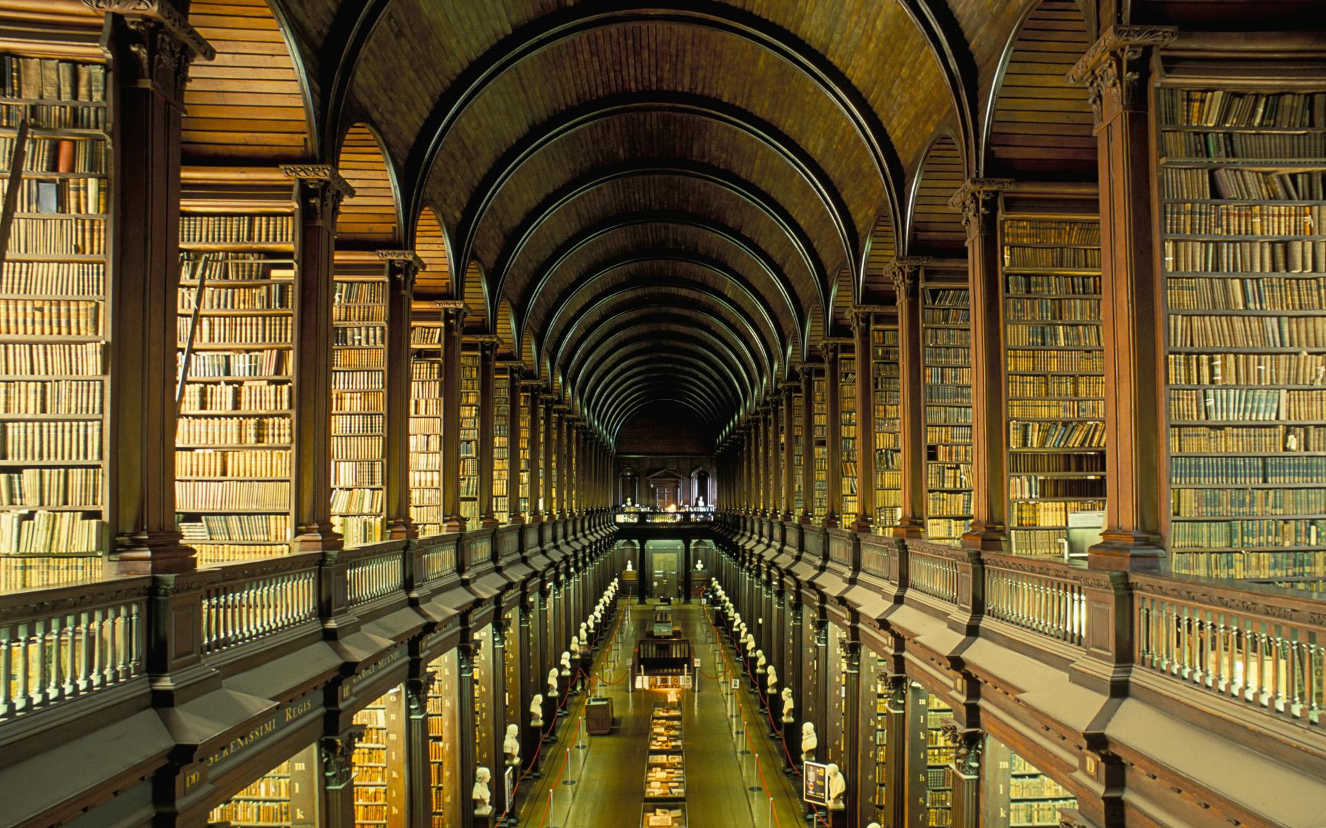 Biblioteca Trinity College din Dublin