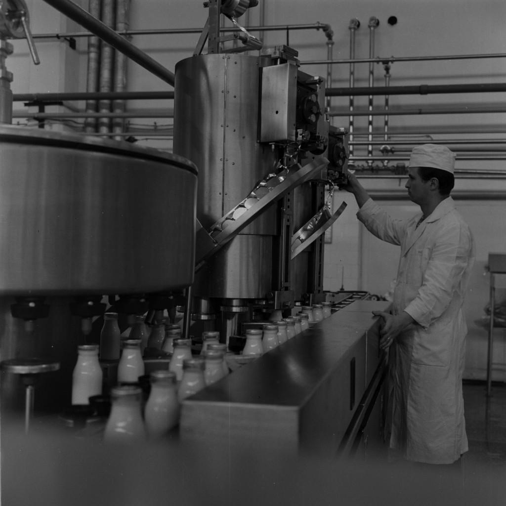 Fabrica de lapte și înghețată / Foto: Arhiva Minerva 1973