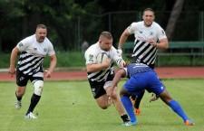 După ce au pierdut finala mică în Cupa Regelui,   rugbyștii de la Universitatea Cluj au fost eliminați și din sferturile Cupei României,   de CSM Știința Baia Mare / Foto: Dan Bodea