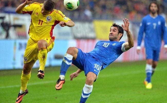 """Roânia a pus """"tunurile"""" pe Grecia încă din primul minut, dar meciul s-a terminat la egalitate (0-0) şi """"Tricolorii"""" au mai făcut un pas mic spre Euro 2016"""