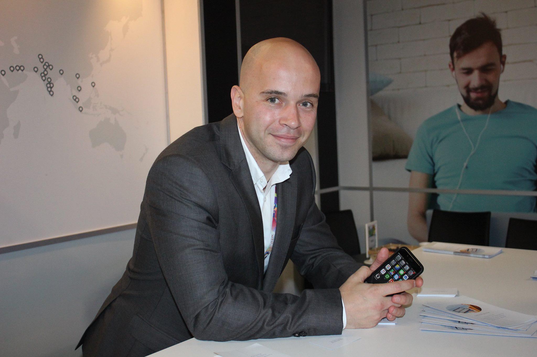 Mircea Strugaru, specialist în recrutare al companiei Crossover (Foto: Dan Bodea)