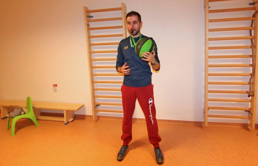 """Adrian Muntean, fondatorul Asociației """"Minute de Sănătate""""/ Foto: Dan Bodea"""
