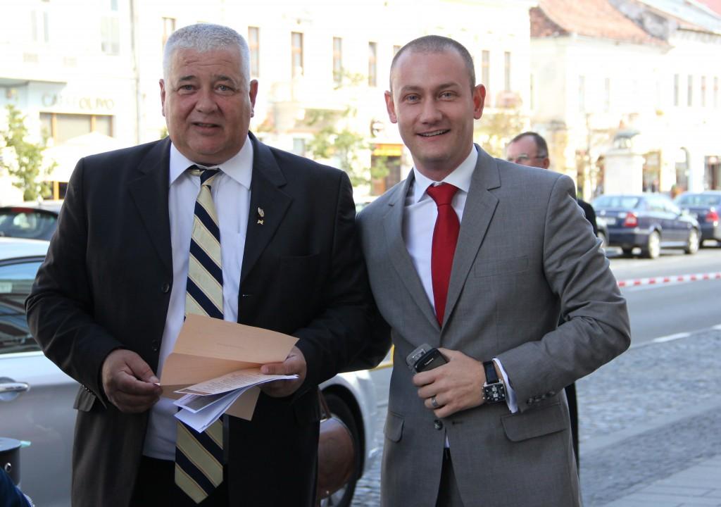 Marius Nicoară și Mihai Seplecan / Foto: Dan Bodea