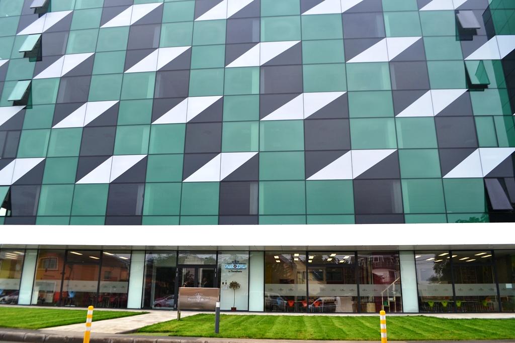 Școala este situață în incinta Cluj Business Center/ Foto: Maria Man