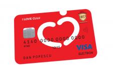 Card I love Cluj de la Banca Transilvania