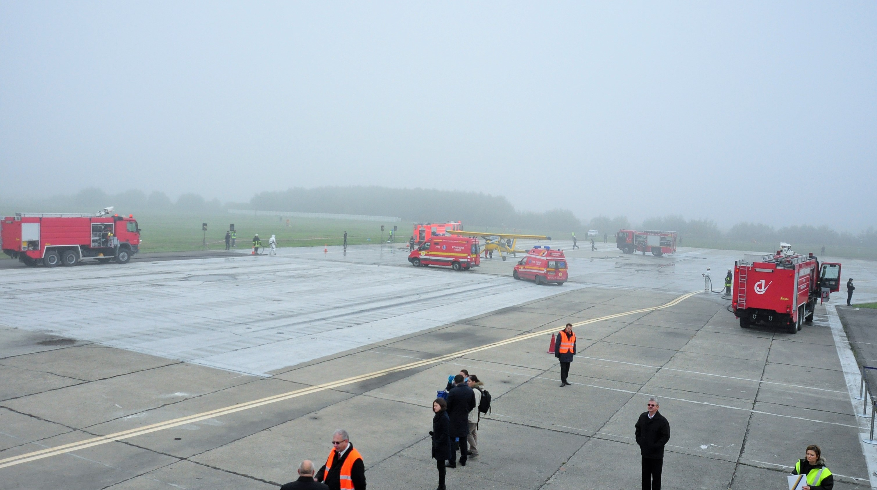 accident aeroport