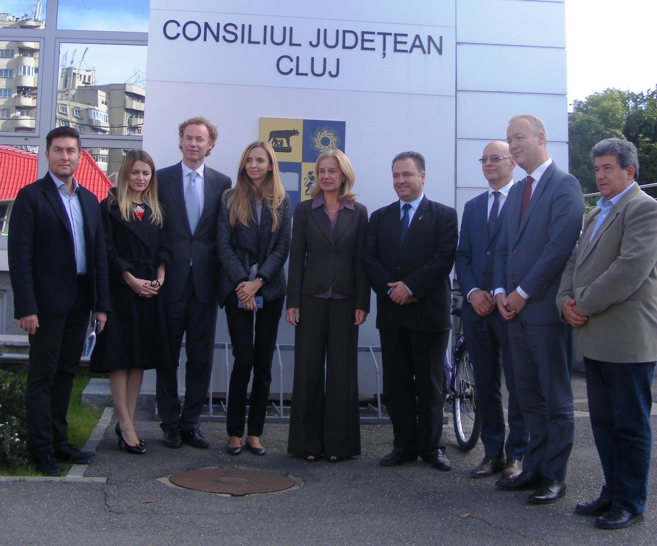 vizita delegatie olandeza