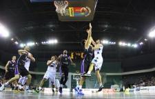 U-BT Cluj a pierdut la Târgu Jiu,   meciul cu Energia (63-76),   la capătul unei partide pe care au controlat-o în cea mai mare parte a timpului / Foto: Dan Bodea
