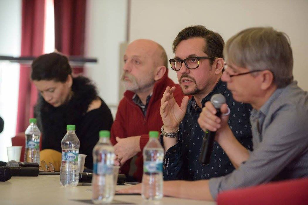Michal Dočekal, în timpul conferinței de presă/Foto: Biro Istvan