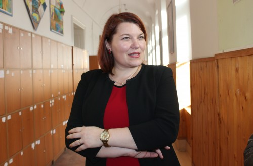 """Smaranda Graur,   directorul Liceulului Teoretic """"Gheorghe Șincai"""" / Foto: Dan Bodea"""