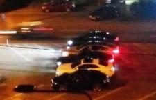 Curse ilegale de mașini în centrul Clujului