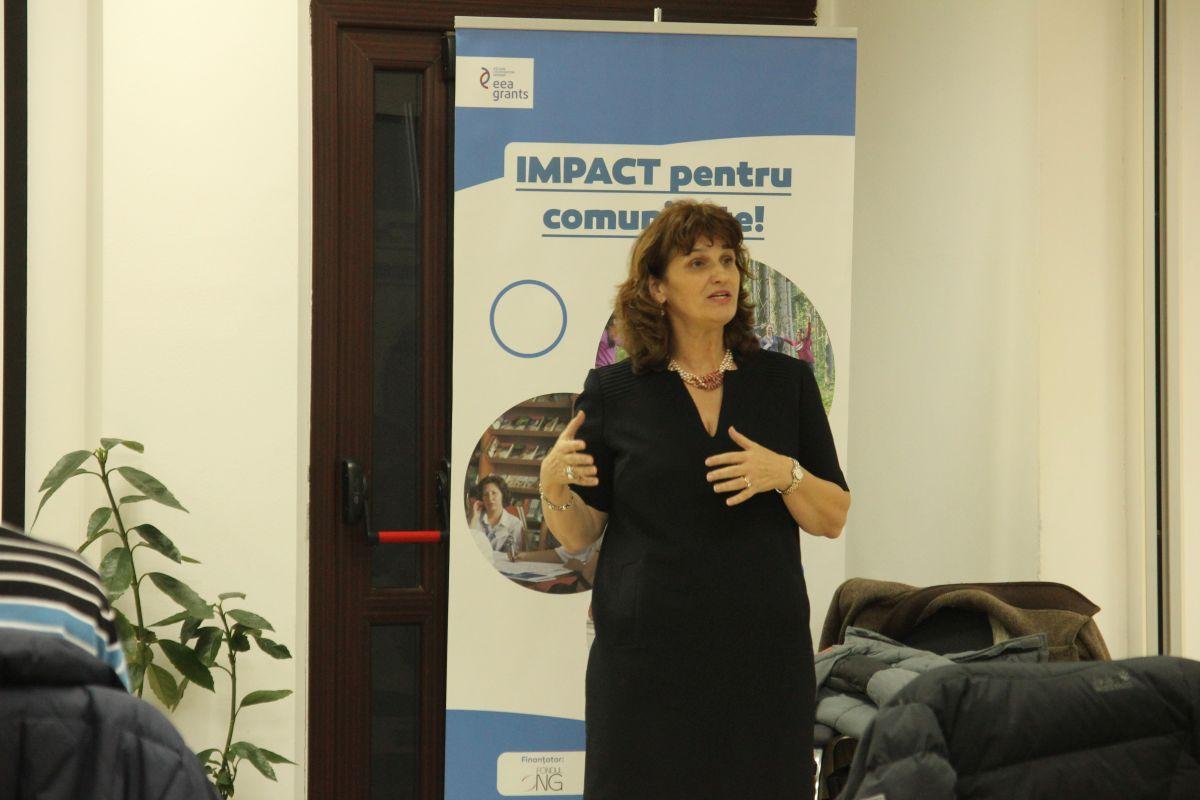 Simona Baciu,   fondator Transylvania College/Foto: Cristina Beligăr