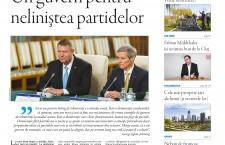 """Nu ratați noul număr Transilvania Reporter """"Guvern prezidenţial pentru neliniştea partidelor"""""""