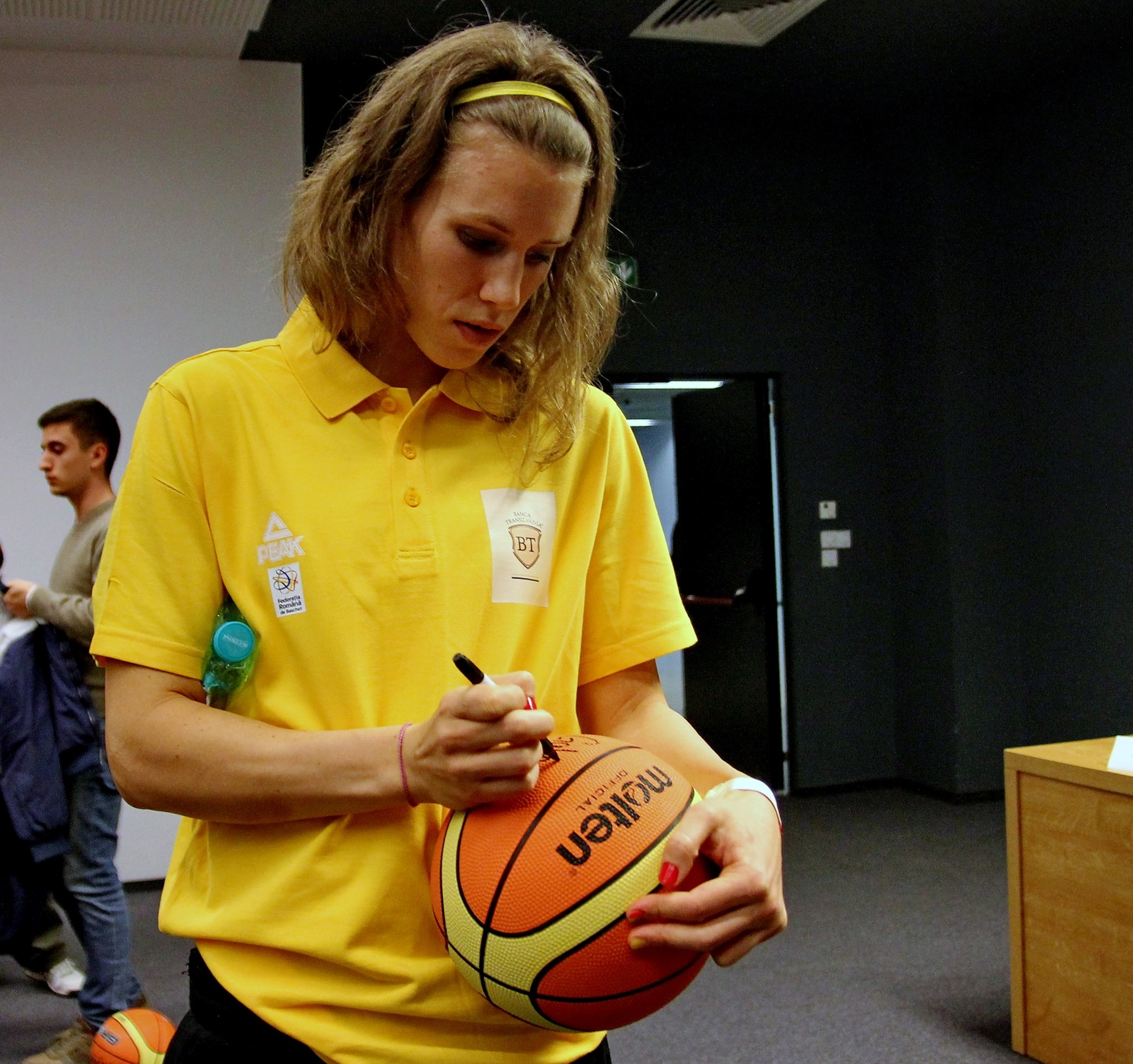 Gabriela Mărginean,   căpitanul naționale de baschet feminin (Foto:Dan Bodea)