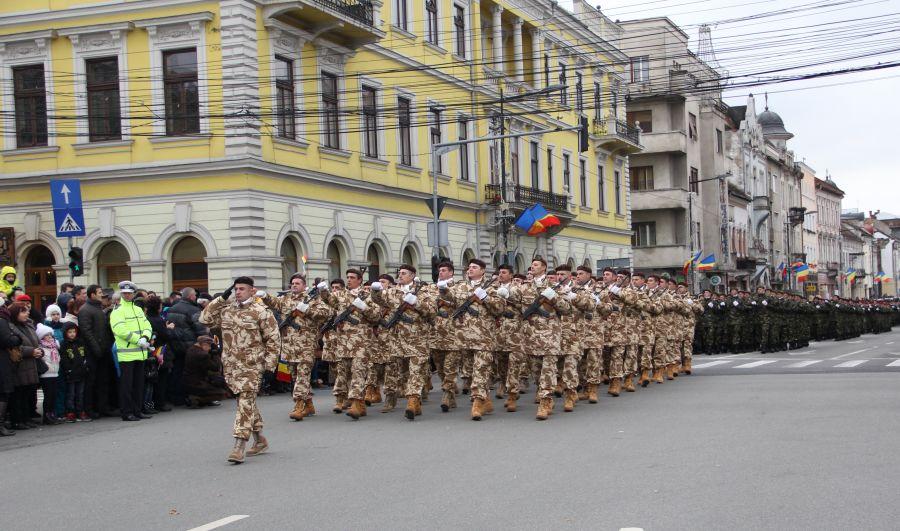 parada militara DB