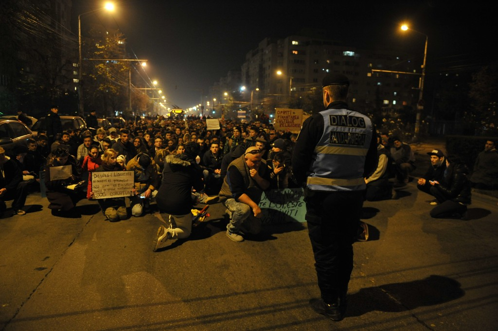 proteste Cluj,   5 noiembrie 2015 (1)