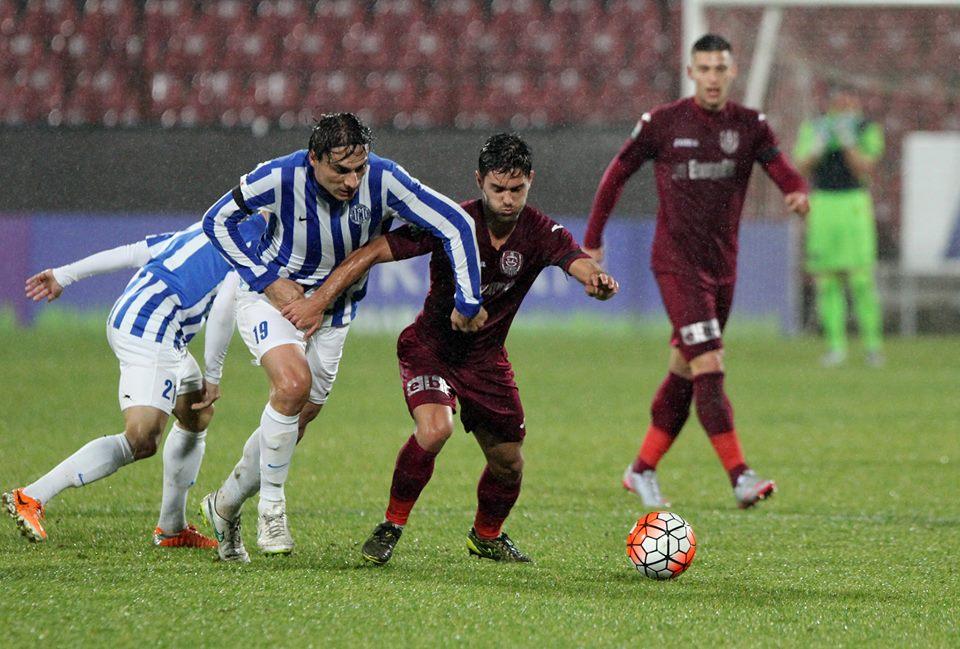 După șase meciuri fără victorie, CFR Cluj s-a impus cu 2-1 la Iași, în Sferturile cupei, și s-a calificat în semifinale / Foto: Dan Bodea