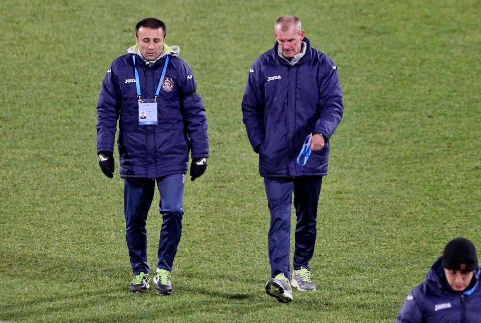 După 5 etape fără victorie, Francis Dican și Dan Matei au fost dați afară de la CFR Cluj / Foto: Dan Bodea