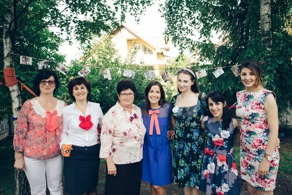 Echipa Vaniei Szasz/ Foto: arhiva personală