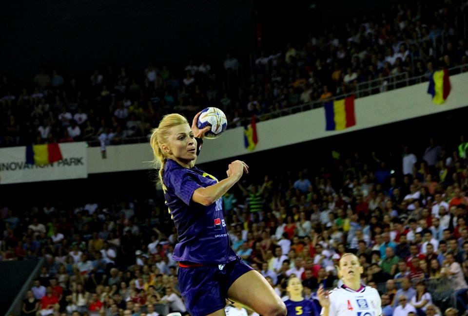 Ada Nechita a marcat în ultima secundă a jocului cu Danemarca, golul calificării României în semifinalele Campionatului Mondial de handbal feminin
