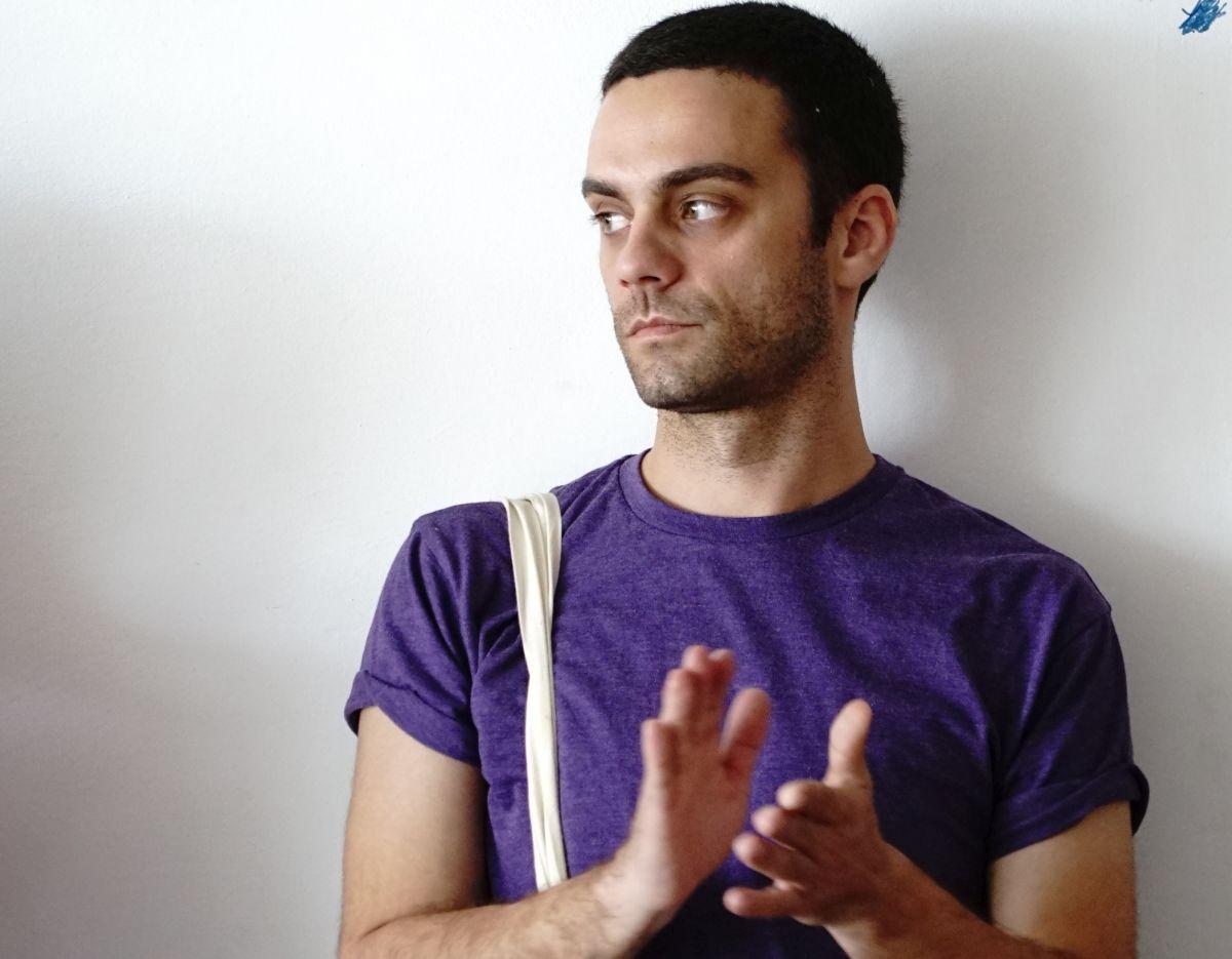 Bogdan Georgescu,   regizor/Foto: Lucien Samaha